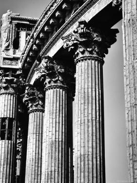 Classical Corinthian Columns of the Palace of the Legion of Honor in Golden Gate Park by Walker Evans