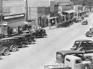 County seat of Hale County, Alabama, c.1936 by Walker Evans