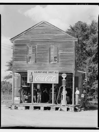 Crossroads General Store in Sprott, Alabama, 1935-36