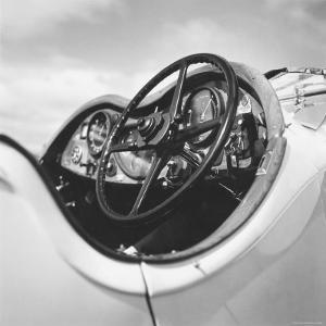 Dashboard of Older Model Rolls Royce Convertible by Walker Evans
