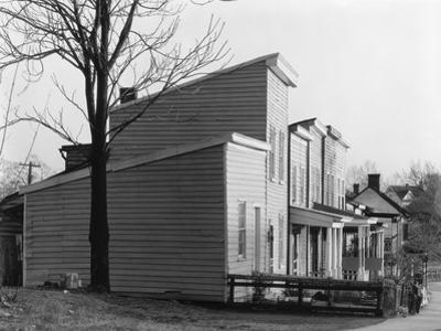 Frame house in Fredericksburg, Virginia, 1936 by Walker Evans