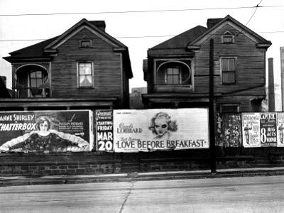 Houses, Atlanta, Georgia, 1936