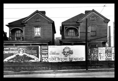 Houses - Atlanta, Georgia by Walker Evans