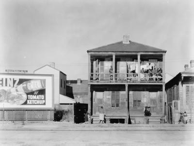 person house in New Orleans, Louisiana, 1936 by Walker Evans