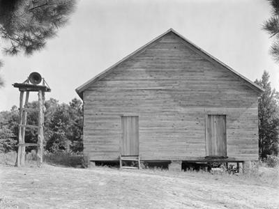 Schoolhouse in Alabama, c.1936 by Walker Evans
