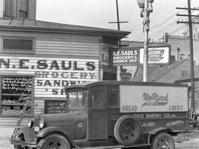 Street Corner in New Orleans, Louisiana, 1936 by Walker Evans