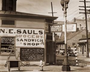 Street Scene, New Orleans, Louisiana, 1935 by Walker Evans