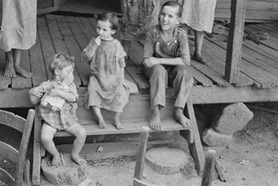Tengle children in Hale County, Alabama, 1936 by Walker Evans