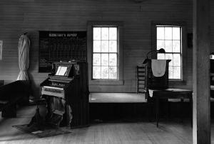 Tennessee Church Interior by Walker Evans