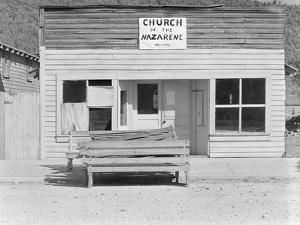 The Church of the Nazarene, Tennessee, 1936 by Walker Evans