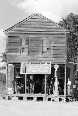 The Crossroads Store in Sprott Alabama by Walker Evans