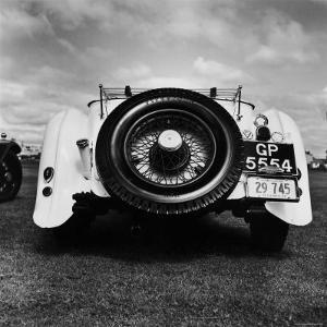 Vintage Rolls Royce, Taken at a Montreal Meet of the Rolls Royce Owners Club in August, 1958 by Walker Evans