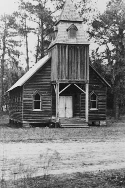 Wooden church, St. Marys, Georgia, 1936 by Walker Evans