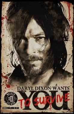 Walking Dead- Daryl Wants You