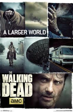 Walking Dead- Larger World Collage