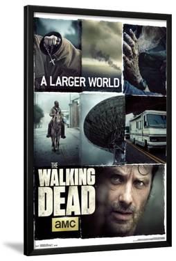 Walking Dead- Larger World Collage