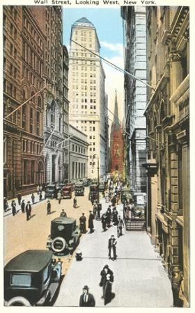 Wall Street, New York City