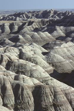 Badlands National Park, South Dakota by Wallace Garrison