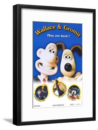 Wallace & Gromit: The Best of Aardman Animation--Framed Masterprint