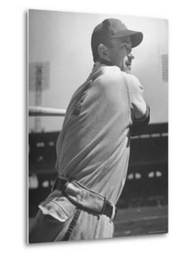 Shortstop Luke Appling Swinging a Bat by Wallace Kirkland