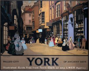 Walled City York of Ancient Days