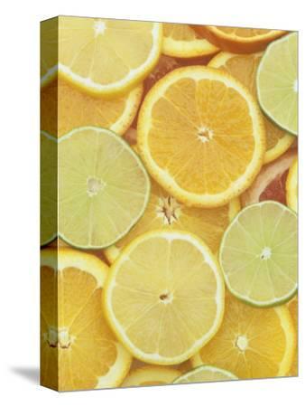 Citrus Slices. Lemon, Lime, Orange, Grapefruit and Tangerine by Wally Eberhart