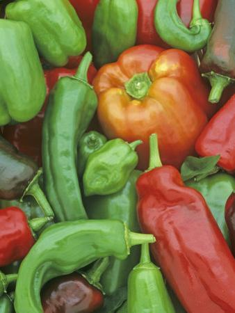 Pepper Varieties, Bell, Habenaro, Chili and Hungarian Varieties by Wally Eberhart