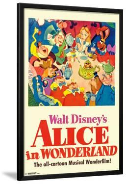 Walt Disney's  Alice In Wonderland - One Sheet