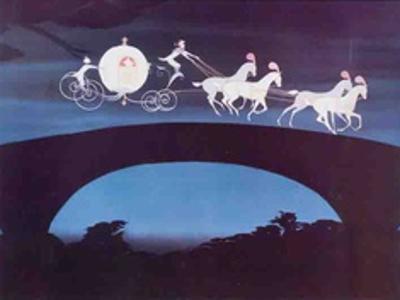 Walt Disney's Cinderella: Cinderella's Coach sets off for the Palace