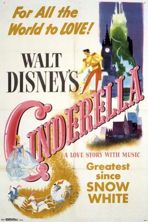 Walt Disney's: Cinderella- One Sheet
