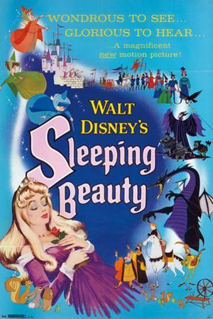 Walt Disney: Sleeping Beauty- One Sheet