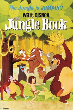 Walt Disney: The Jungle Book- One Sheet