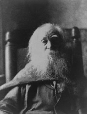 Walt Whitman American Poet, in 1991, the Last Year of His Life, Thomas Eakins