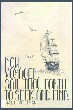Walt Whitman Now Voyager