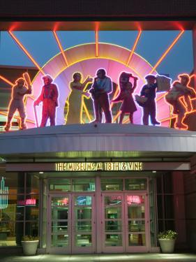 18th and Vine Historic Jazz District, The American Jazz Museum, Kansas City, Missouri, USA by Walter Bibikow