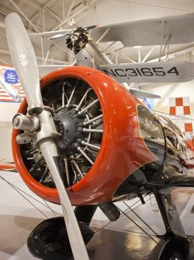 1930s-Era Number 44 We Will Racing Airplane, Weddel-Williams Air Racing Museum, Patterson, LA by Walter Bibikow