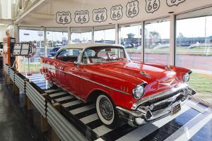 1957 Chevrolet Automobile, Route 66 Museum, Clinton, Oklahoma, USA by Walter Bibikow
