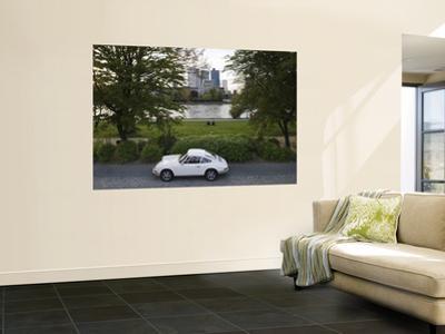 1970's Porsche 911, Riverside Park, Frankfurt-Am-Main, Hessen, Germany by Walter Bibikow