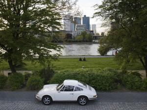 1970's Porsche 911, Riverside Park, Frankfurt-Am-Main, Hessen, Germany by Walter Bibikow