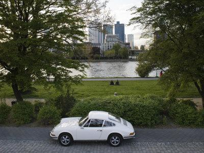 1970u0027s Porsche 911, Riverside Park, Frankfurt Am Main, Hessen,  GermanyWalter Bibikow