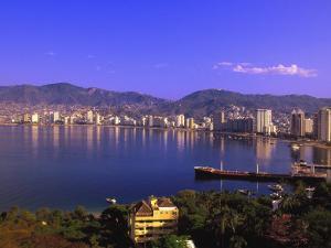 Acapulco Bay, Acapulco, Mexico by Walter Bibikow