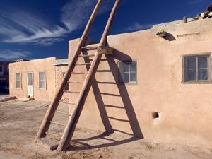 Acoma Pueblo, Sky City, New Mexico, USA by Walter Bibikow