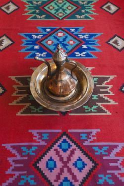 Albania, Gjirokastra, Ethnographic Museum, Ottoman House Interior by Walter Bibikow