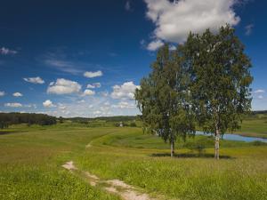 Alexander Pushkin Preserve, Pushkinskie Gory, Pskovskaya Oblast, Russia by Walter Bibikow
