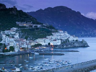 Amalfi, Amalfi Coast, Italy by Walter Bibikow