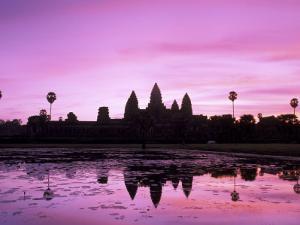 Angkor Wat, Siem Reap, Cambodia by Walter Bibikow