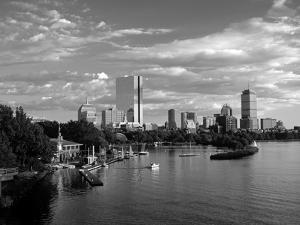 Back Bay, Boston, Massachusetts, USA by Walter Bibikow