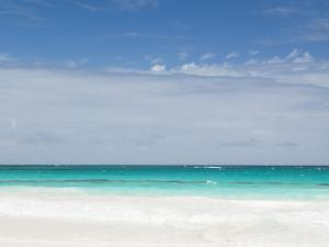 Bahamas, Eleuthera Island, Harbour Island, Pink Sands Beach by Walter Bibikow