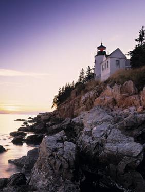 Bass Harbor Head Lighthouse, Acadia Nat. Park, Maine, USA by Walter Bibikow