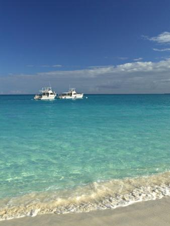 Beach at Grace Bay, Providenciales Island, Turks and Caicos, Caribbean by Walter Bibikow